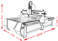 Cheap 1325 Wood Cnc Router China Affordable Price