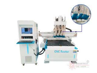 Pneumatic Cnc Router for Wood Furnitures Making Machine