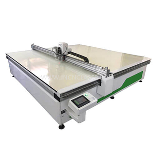 Laser Knife Cutting Machine for Leather Fabic