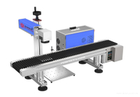 Laser Marking Machine With Conveyor For Pens Laser Etching